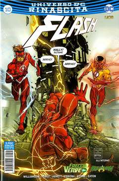 Copertina FLASH n.10 - FLASH, RW LION