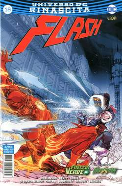 Copertina FLASH n.15 - FLASH, RW LION