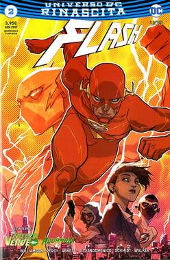 Copertina FLASH n.2 - FLASH, RW LION