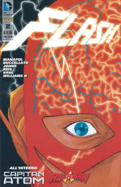 Copertina FLASH 2012 n.2 - FLASH, RW LION