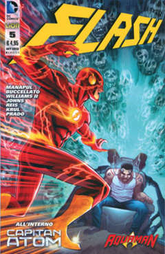 Copertina FLASH 2012 n.5 - FLASH, RW LION
