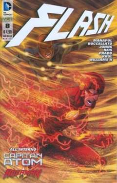 Copertina FLASH 2012 n.8 - FLASH, RW LION