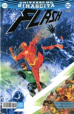Copertina FLASH n.25 - FLASH, RW LION
