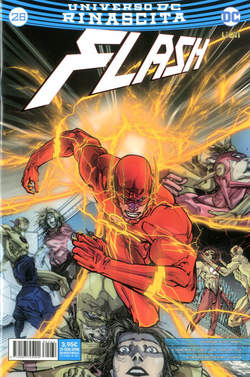 Copertina FLASH n.26 - FLASH, RW LION
