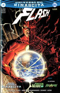 Copertina FLASH n.3 - FLASH, RW LION