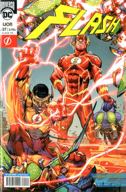 Copertina FLASH n.37 - FLASH, RW LION