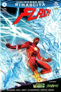 Copertina FLASH n.4 - FLASH, RW LION