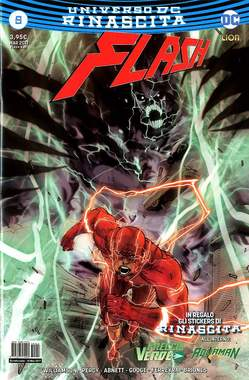 Copertina FLASH n.5 - FLASH, RW LION