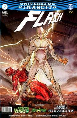Copertina FLASH n.7 - FLASH, RW LION