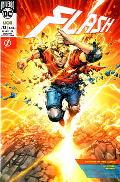 Copertina FLASH n.72 - FLASH, RW LION