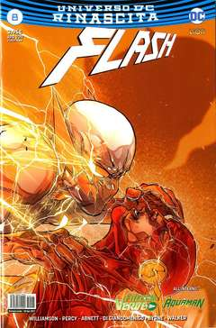 Copertina FLASH n.8 - FLASH, RW LION