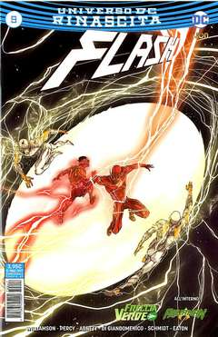 Copertina FLASH n.9 - FLASH, RW LION