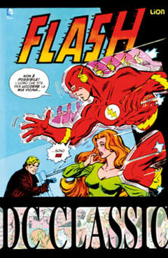 Copertina FLASH CLASSIC n.3 - FLASH CLASSIC, RW LION