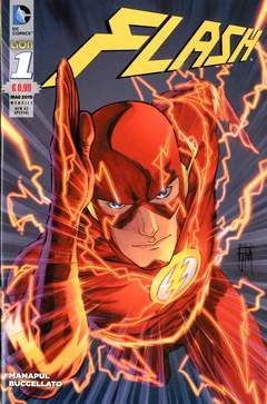 Copertina FLASH NEW 52 SPECIAL n.1 - FLASH, RW LION