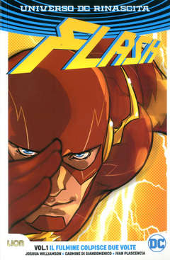 Copertina FLASH Rebirth Collection n.1 - IL FULMINE COLPISCE DUE VOLTE!, RW LION