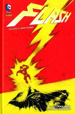Copertina FLASH volume n.4 - ANTI-FLASH, RW LION