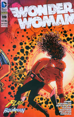 Copertina FLASH/WONDER WOMAN n.1 - Cover WONDER WOMAN, RW LION