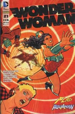 Copertina FLASH/WONDER WOMAN n.3 - Cover WONDER WOMAN, RW LION