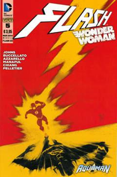 Copertina FLASH/WONDER WOMAN n.5 - Cover FLASH, RW LION
