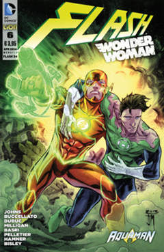 Copertina FLASH/WONDER WOMAN n.6 - FLASH/WONDER WOMAN, RW LION