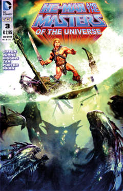 Copertina HE-MAN AND THE MASTERS OF... n.3 - HE-MAN AND THE MASTERS OF THE UNIVERSE, RW LION