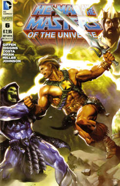 Copertina HE-MAN AND THE MASTERS OF... n.6 - HE-MAN AND THE MASTERS OF THE UNIVERSE, RW LION