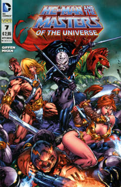 Copertina HE-MAN AND THE MASTERS OF... n.7 - HE-MAN AND THE MASTERS OF THE UNIVERSE, RW LION
