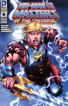 Copertina HE-MAN AND THE MASTERS OF... n.8 - HE-MAN AND THE MASTERS OF THE UNIVERSE, RW LION