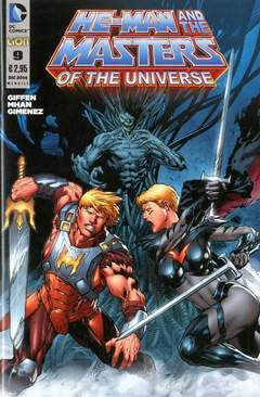 Copertina HE-MAN AND THE MASTERS OF... n.9 - HE-MAN AND THE MASTERS OF THE UNIVERSE, RW LION