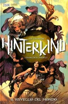 Copertina HINTERKIND n.1 - IL RISVEGLIO DEL MONDO, RW LION