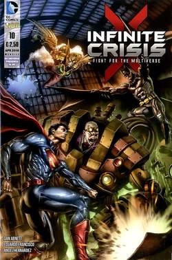 Copertina INFINITE CRISIS FIGHT FOR... n.10 - INFINITE CRISIS: FIGHT FOR THE MULTIVERSE, RW LION