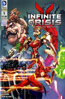 Copertina INFINITE CRISIS FIGHT FOR... n.5 - INFINITE CRISIS: FIGHT FOR THE MULTIVERSE, RW LION