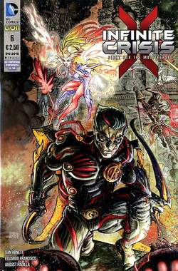 Copertina INFINITE CRISIS FIGHT FOR... n.6 - INFINITE CRISIS: FIGHT FOR THE MULTIVERSE, RW LION