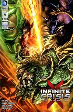 Copertina INFINITE CRISIS FIGHT FOR... n.9 - INFINITE CRISIS: FIGHT FOR THE MULTIVERSE, RW LION