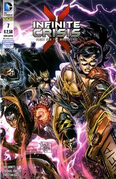 Copertina INFINITE CRISIS FIGHT FOR... n.7 - INFINITE CRISIS: FIGHT FOR THE MULTIVERSE, RW LION