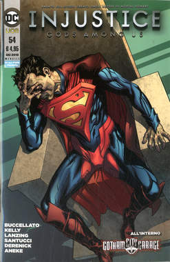 Copertina INJUSTICE GODS AMONG US n.54 - INJUSTICE: GODS AMONG US, RW LION