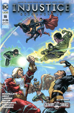 Copertina INJUSTICE GODS AMONG US n.55 - INJUSTICE: GODS AMONG US, RW LION