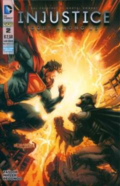 Copertina INJUSTICE GODS AMONG US n.2 - INJUSTICE: GODS AMONG US, RW LION