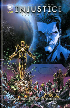 Copertina INJUSTICE GODS AMONG US Volume n.4 - INJUSTICE: GODS AMONG US, RW LION