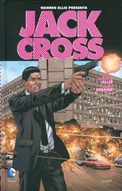 Copertina JACK CROSS n. - WARREN ELLIS PRESENTA: JACK CROSS, RW LION