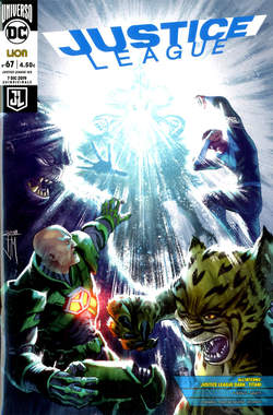Copertina JUSTICE LEAGUE n.125 - JUSTICE LEAGUE 67, RW LION