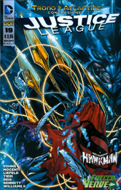 Copertina JUSTICE LEAGUE n.19 - JUSTICE LEAGUE, RW LION