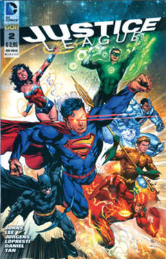 Copertina JUSTICE LEAGUE n.2 - JUSTICE LEAGUE, RW LION