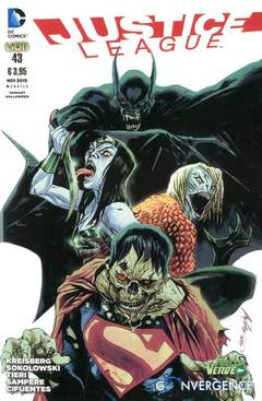 Copertina JUSTICE LEAGUE #43 Variant n. - Variant HALLOWEEN, RW LION