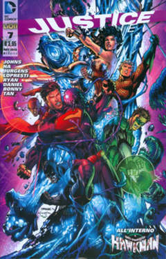 Copertina JUSTICE LEAGUE n.7 - JUSTICE LEAGUE, RW LION
