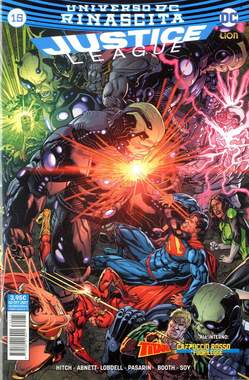 Copertina JUSTICE LEAGUE n.73 - JUSTICE LEAGUE 15, RW LION