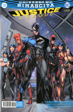 Copertina JUSTICE LEAGUE n.77 - JUSTICE LEAGUE 19, RW LION