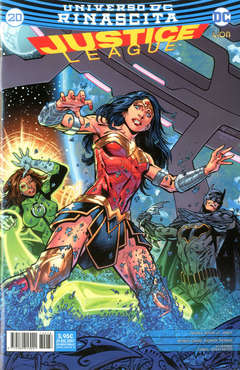 Copertina JUSTICE LEAGUE n.78 - JUSTICE LEAGUE 20, RW LION