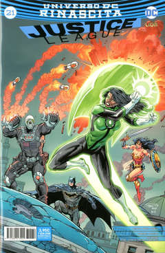 Copertina JUSTICE LEAGUE n.79 - JUSTICE LEAGUE 21, RW LION