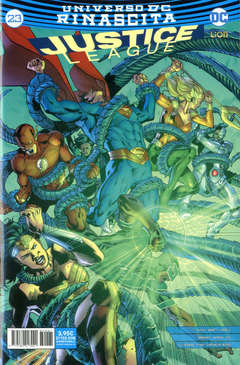 Copertina JUSTICE LEAGUE n.81 - JUSTICE LEAGUE 23, RW LION
